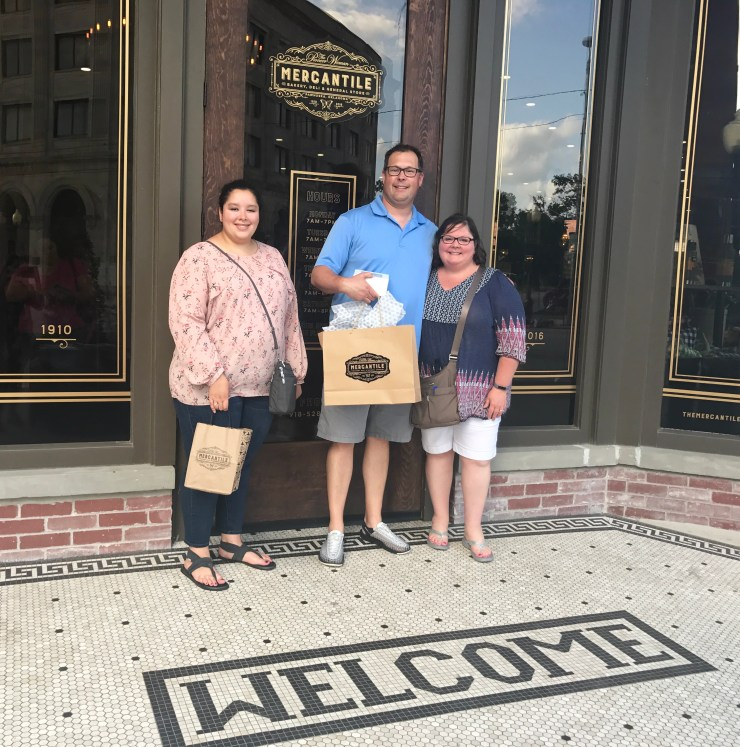 We helped the economy quite a bit with stops at The Pioneer Woman Mercantile and Magnolia Market last summer.