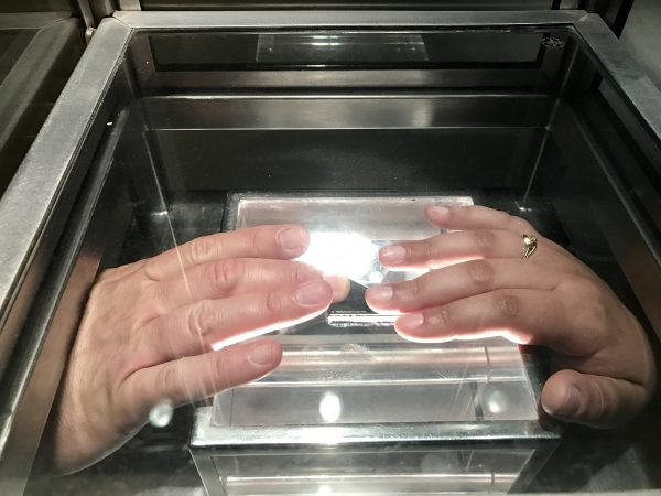 You can touch a rock from the moon at Space Center Houston
