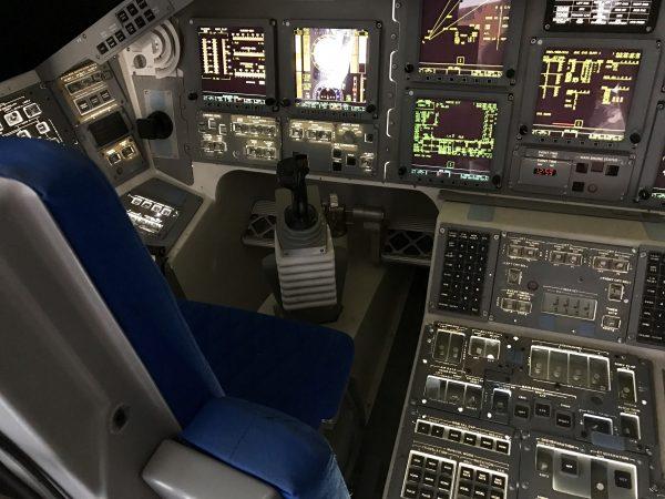 Space Center Houston space shuttle cockpit