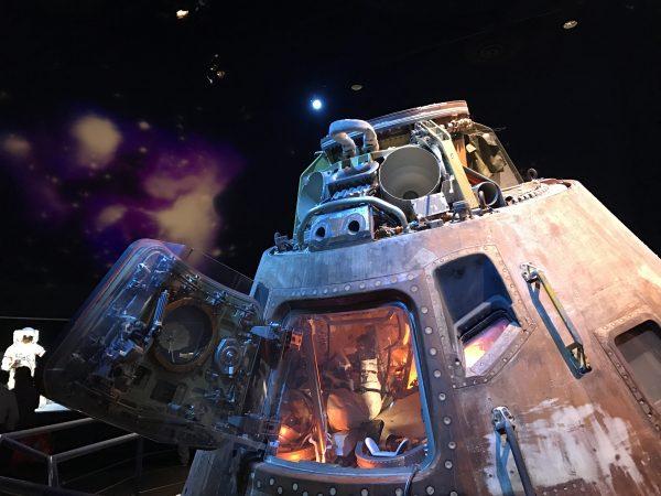 The Apollo 17 Command Module