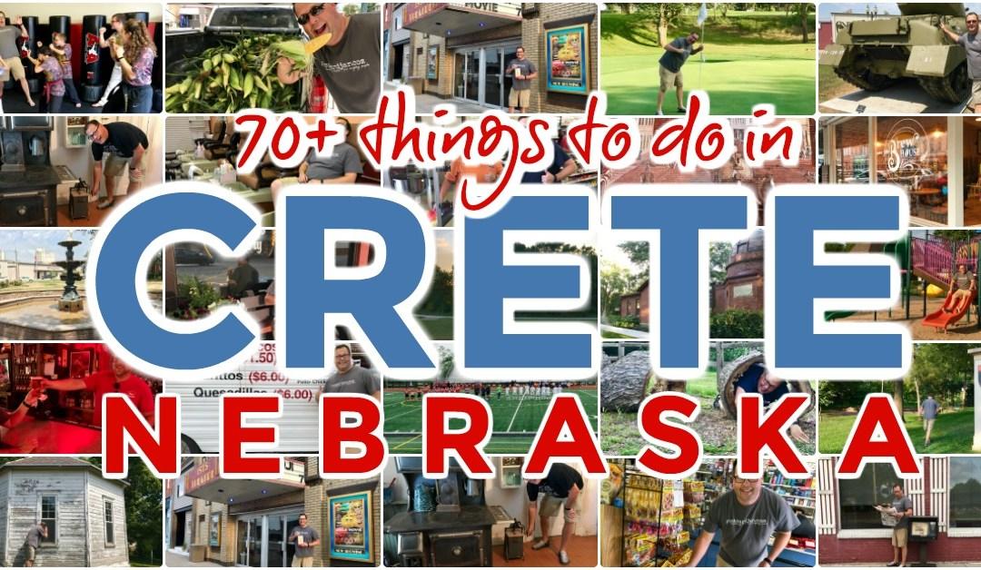 70+ things to do in Crete, Nebraska