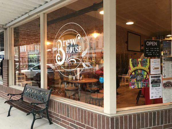 The Brew House in downtown Crete, Nebraska