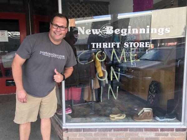 New Beginnings, downtown Crete, Nebraska