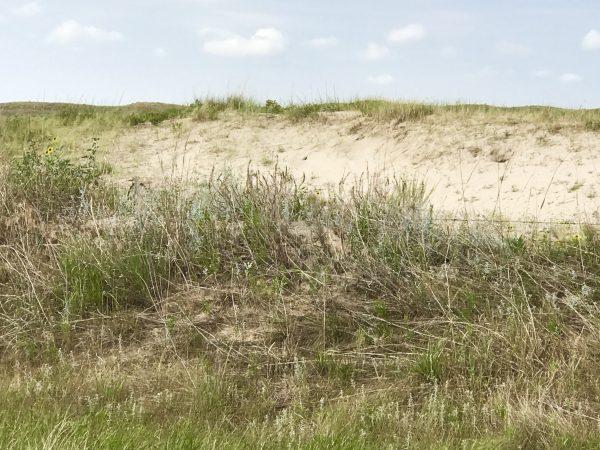 The beautiful Nebraska Sandhills near Valentine, Nebraska.