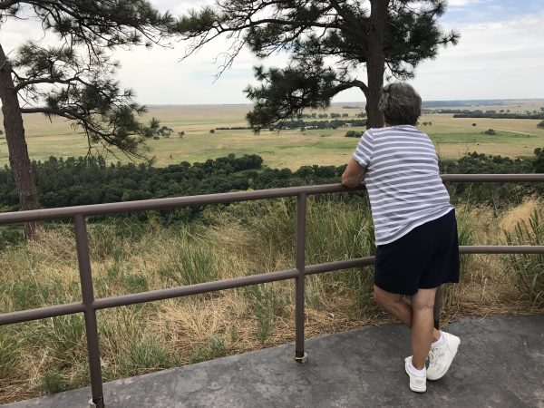 Fort Niobrara National Wildlife Refuge overlook, Valentine, Nebraska