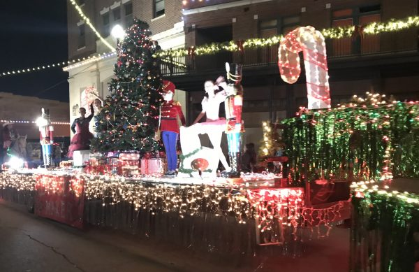 Christmas Parade of Lights, Pawhuska, Oklahoma