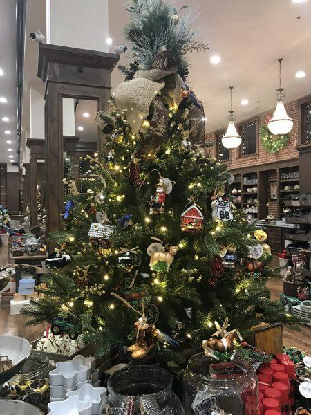 Christmas Tree, Pioneer Woman Mercantile, Pawhuska, Oklahoma