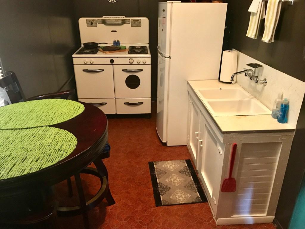 Whiting Bed and Bath, kitchen, Pawhuska, Oklahoma