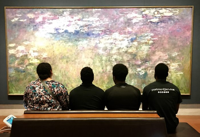 We spent several hours at the Nelson-Atkins Museum of Art in Kansas City on our summer vacation with Meghan and some other college students