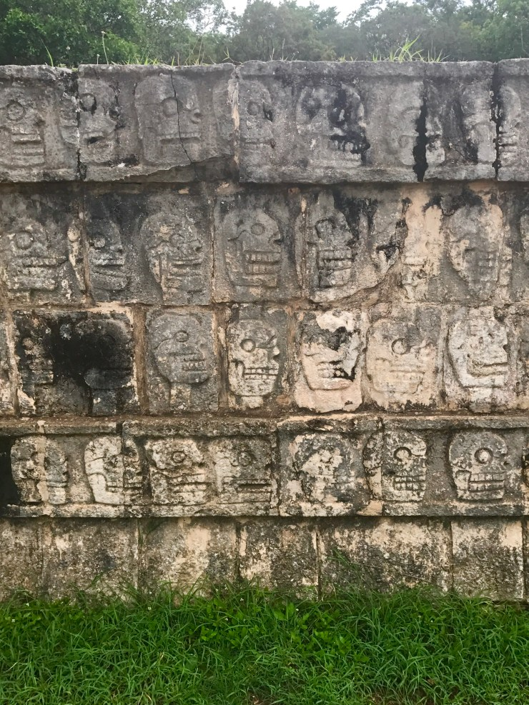 Chichén Itzá hieroglyphs, Mexico