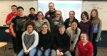 Crete High School language arts class