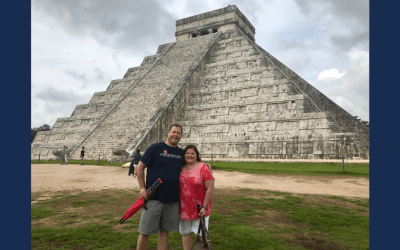 Our first wonder of the world: Chichén Itzá