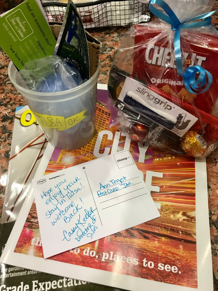 Gifts from Casey at the Hampton Inn - Tulsa Midtown