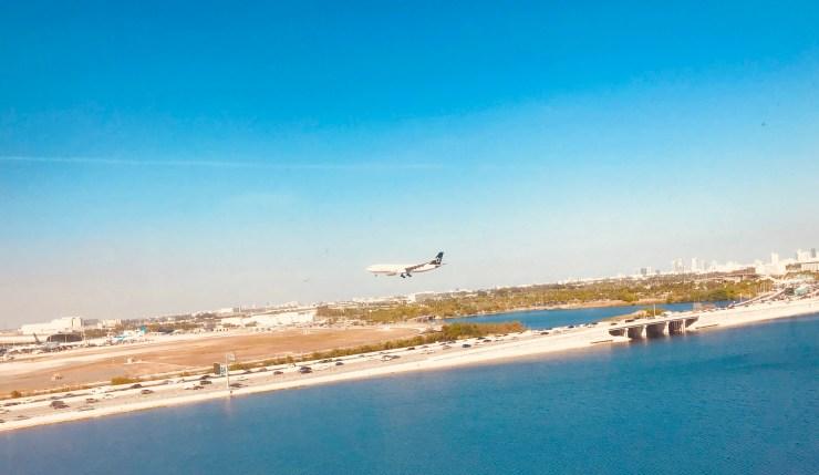 Miami, Florida, airport view