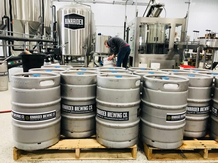 Kinkaider Brewing company, Broken Bow, Nebraska