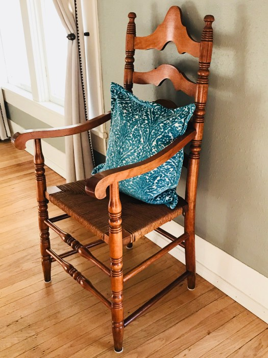 Pawhuska house antique chair