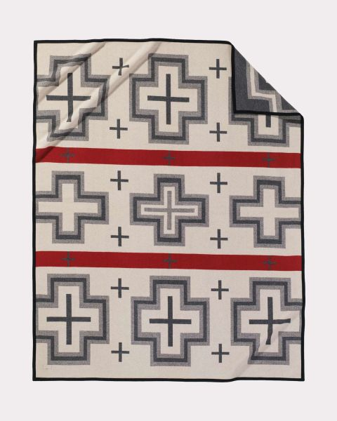 We ordered Pendleton's San Miguel blanket for our 7th anniversary.