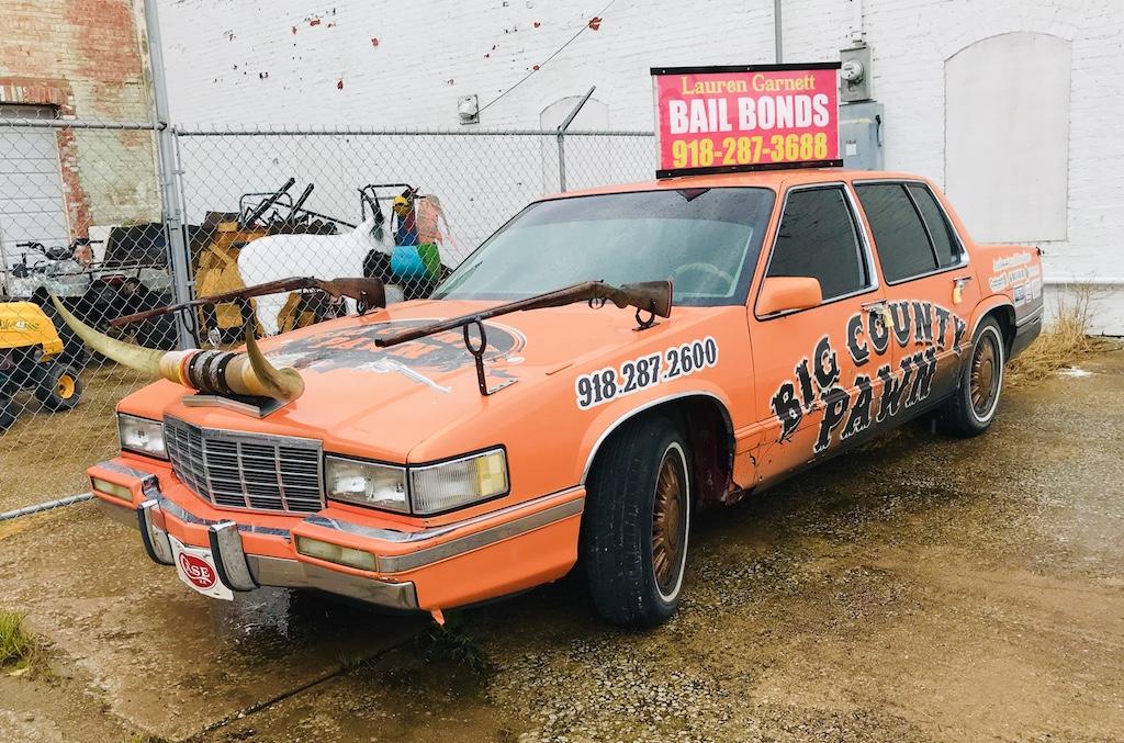 Orange Cadillac Big County Pawn Pawhuska, Oklahoma