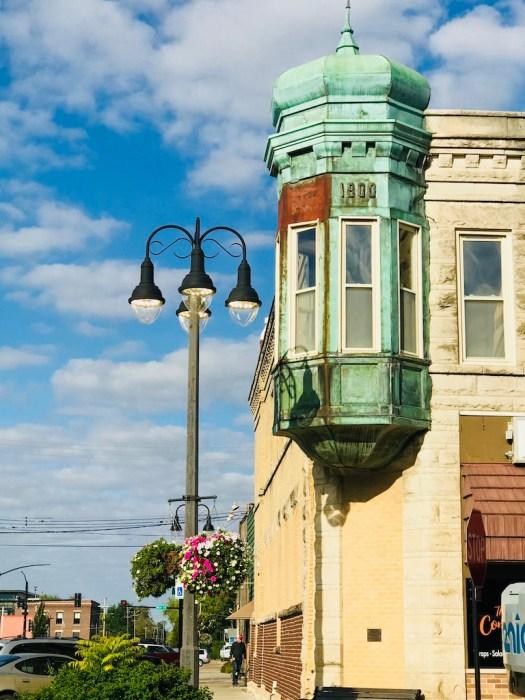 Grinnell Iowa dentist office window