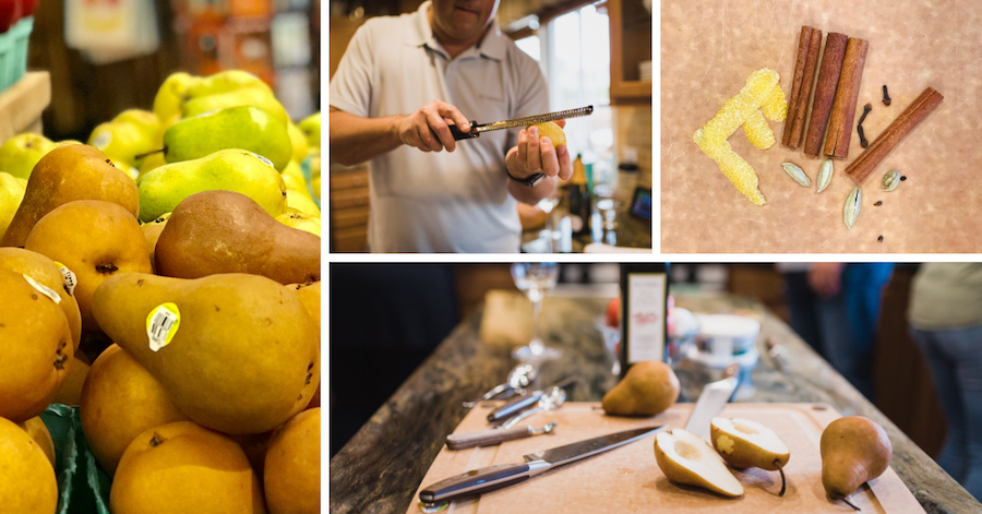 Pears for The Chef & The Dish