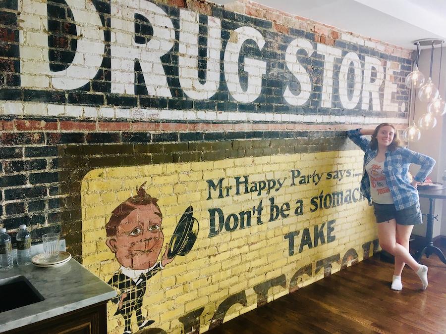 Savanah McDaniel Drug Store room