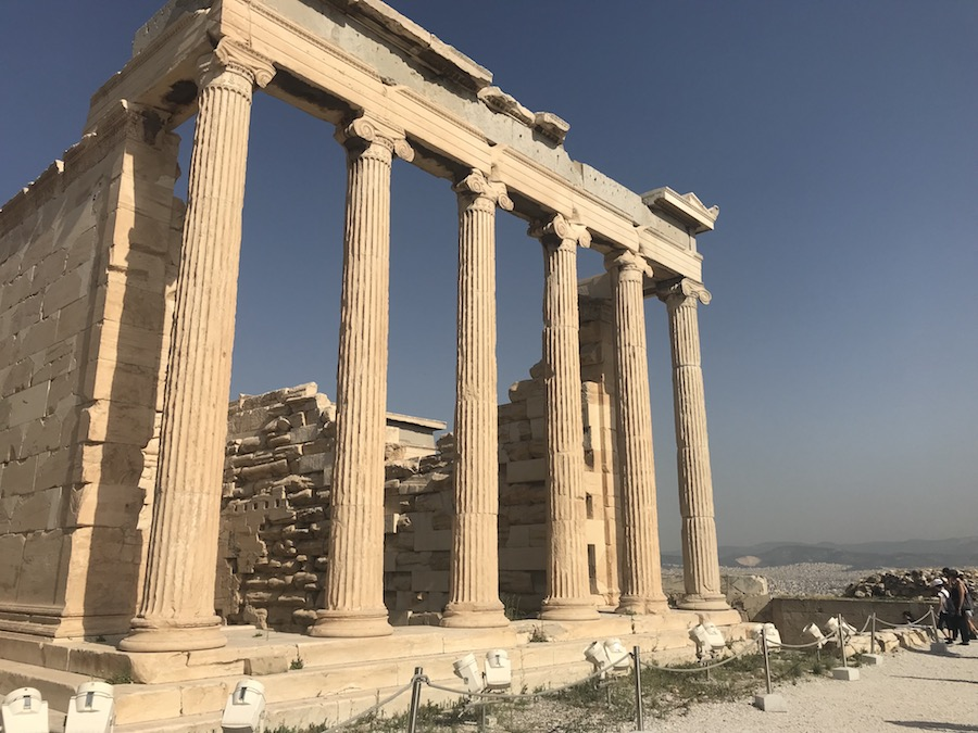 We took a slow walk up to the top of the Acropolis in Athens, Greece.
