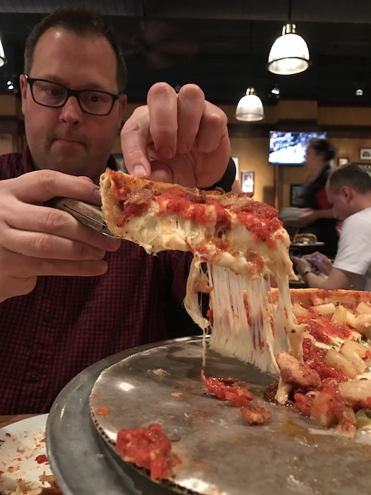 Giordanos unforgettable pizza in Chicago