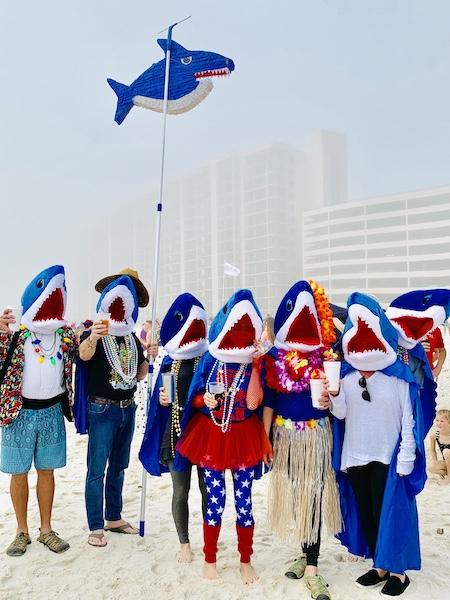Flora-Bama Polar Bear Dip Costumes