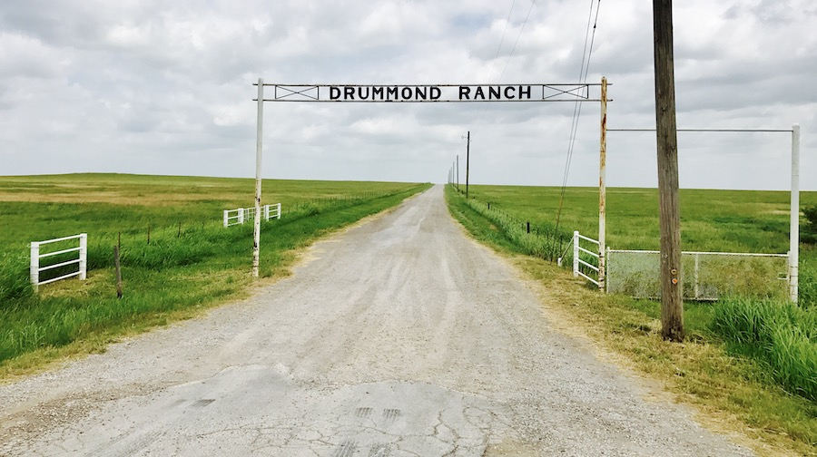 Drummond Ranch Sign