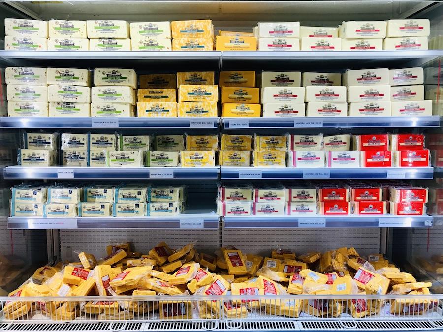 Tillamook Creamery cheese