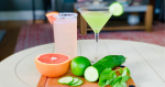 salty dog and cucumber martini