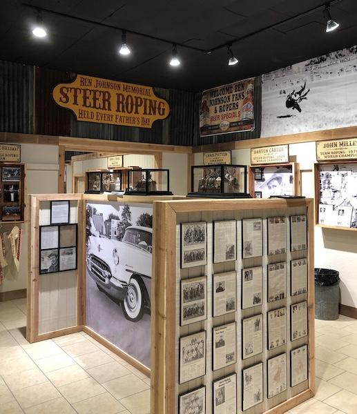 The Ben Johnson Cowboy Museum in Pawhuska