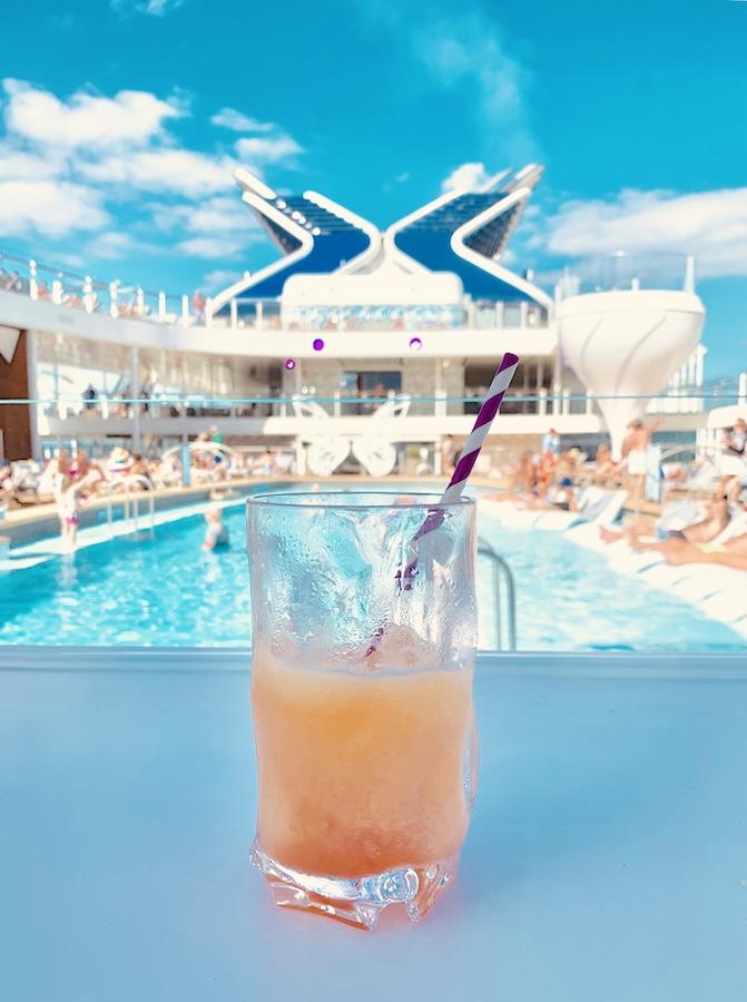 Celebrity Edge Bars Prism (pool) Bar