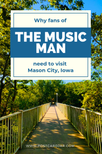 the music man mason city Iowa