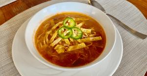 low-calorie soup