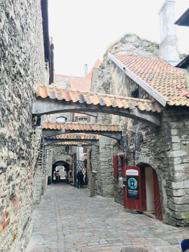The Walled City of Tallinn, Estonia