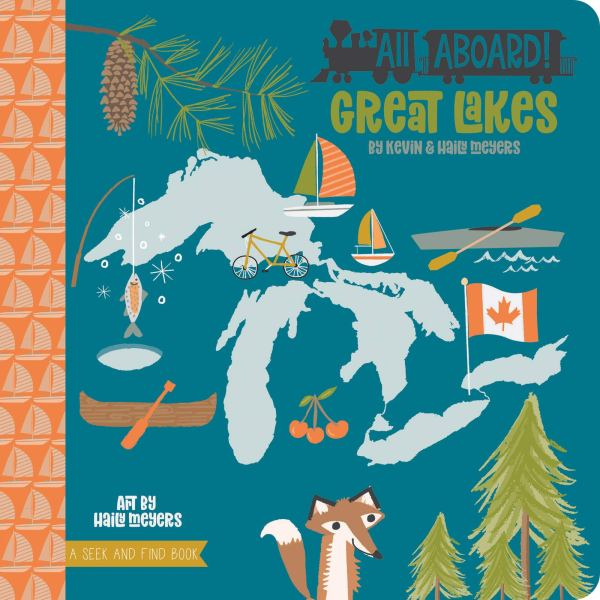 Best Travel Gifts Children's Book Great Lakes
