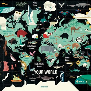 Best Travel Gifts Your World Puzzle