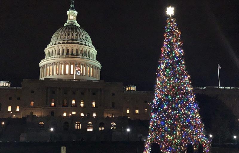 Christmas Vacation for Families Washington DC