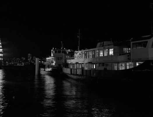 Ferries at Night