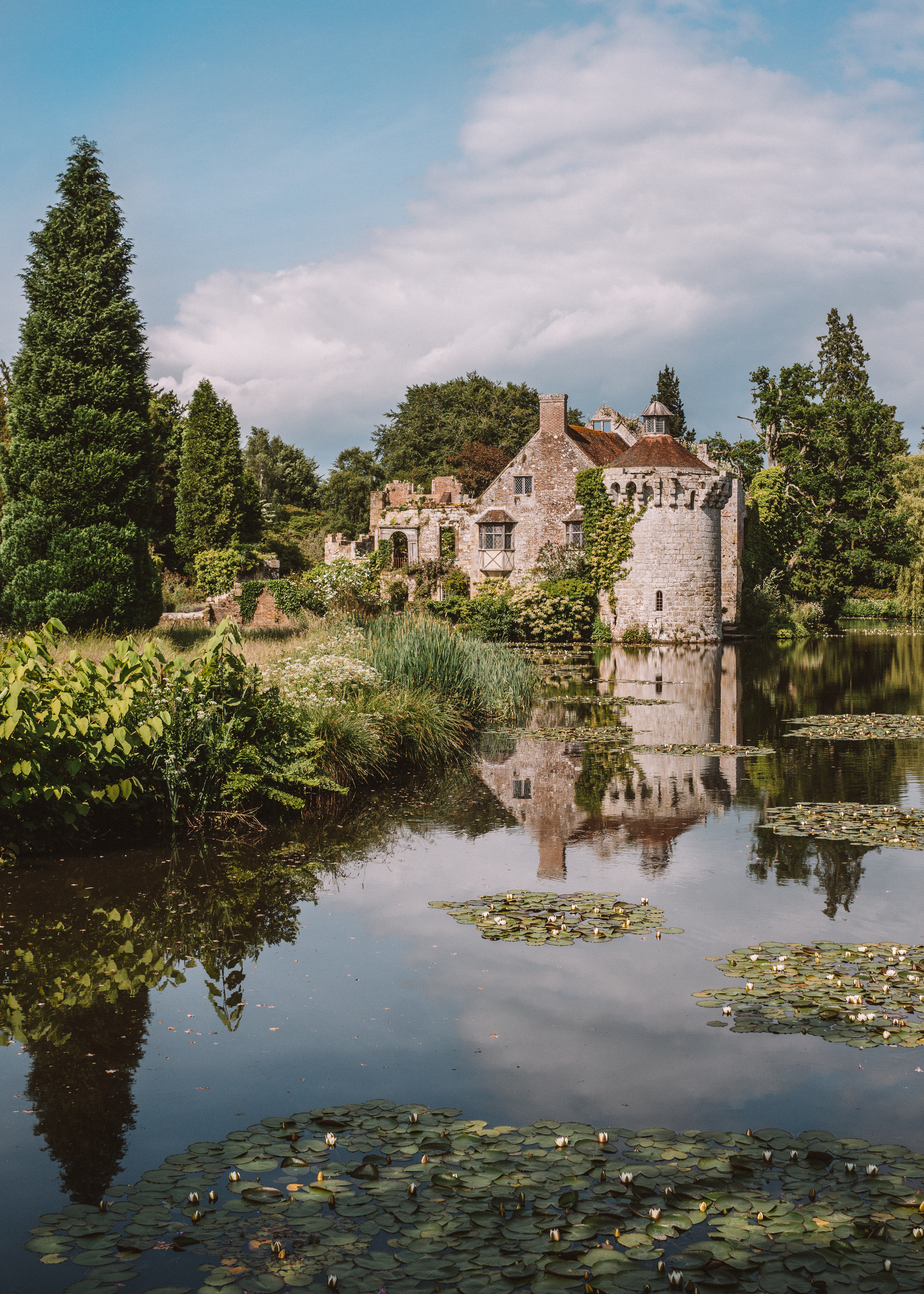 Reflections at Scotney Castle, Kent
