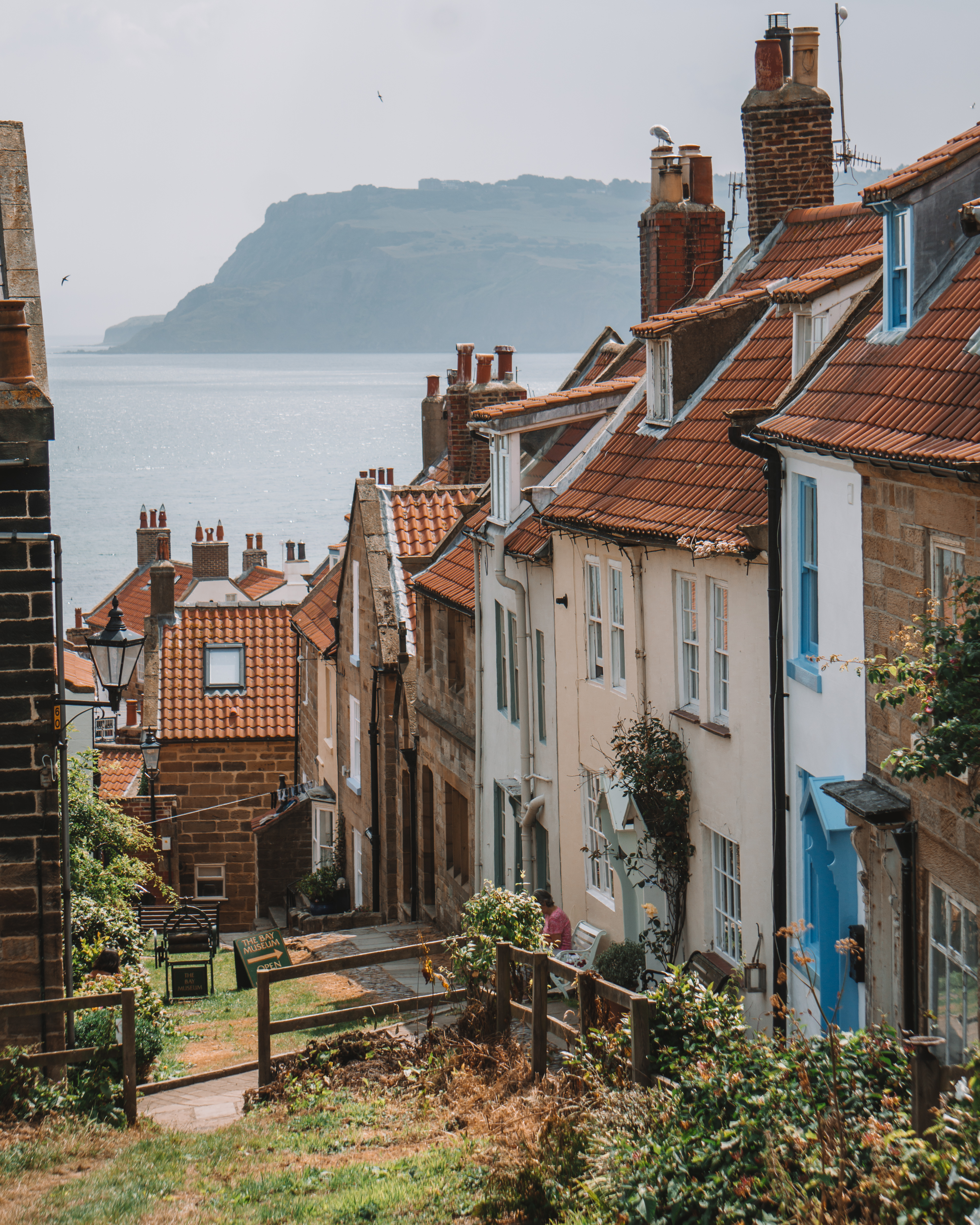 View over Robin Hood's Bay, North Yorkshire