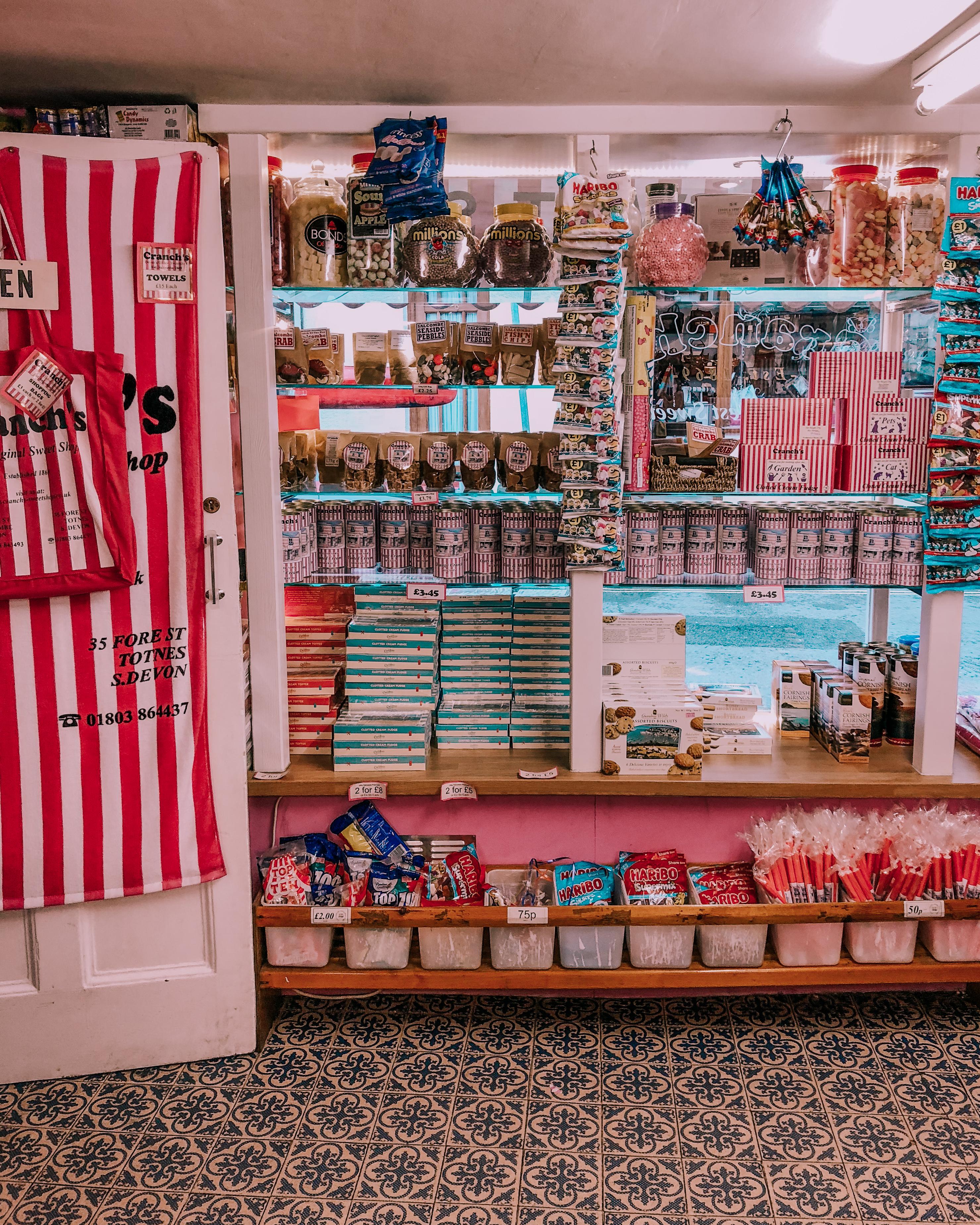 Salcombe's cutest sweet shop