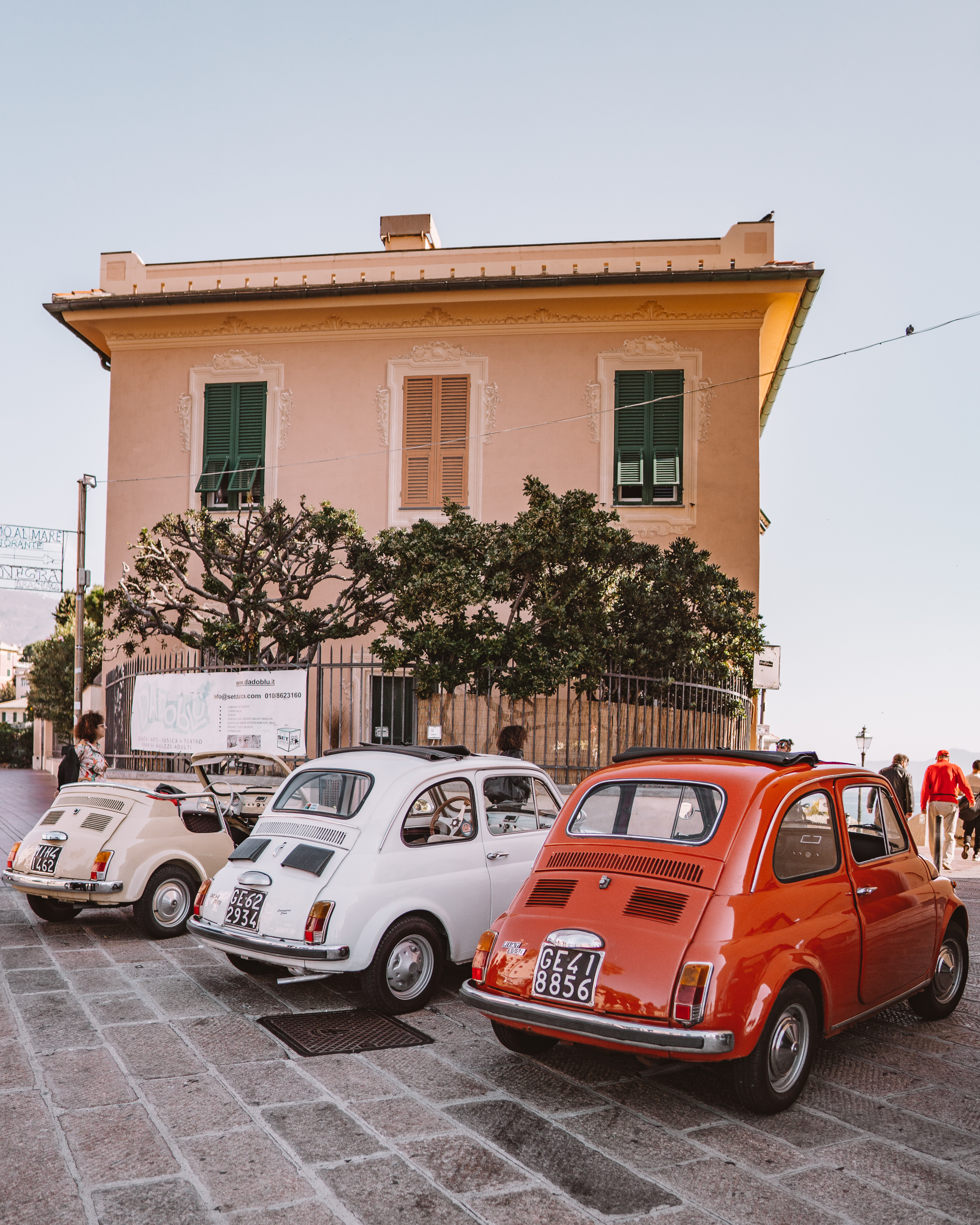 Arriving in Boddacasse with Slow Vintage Tours