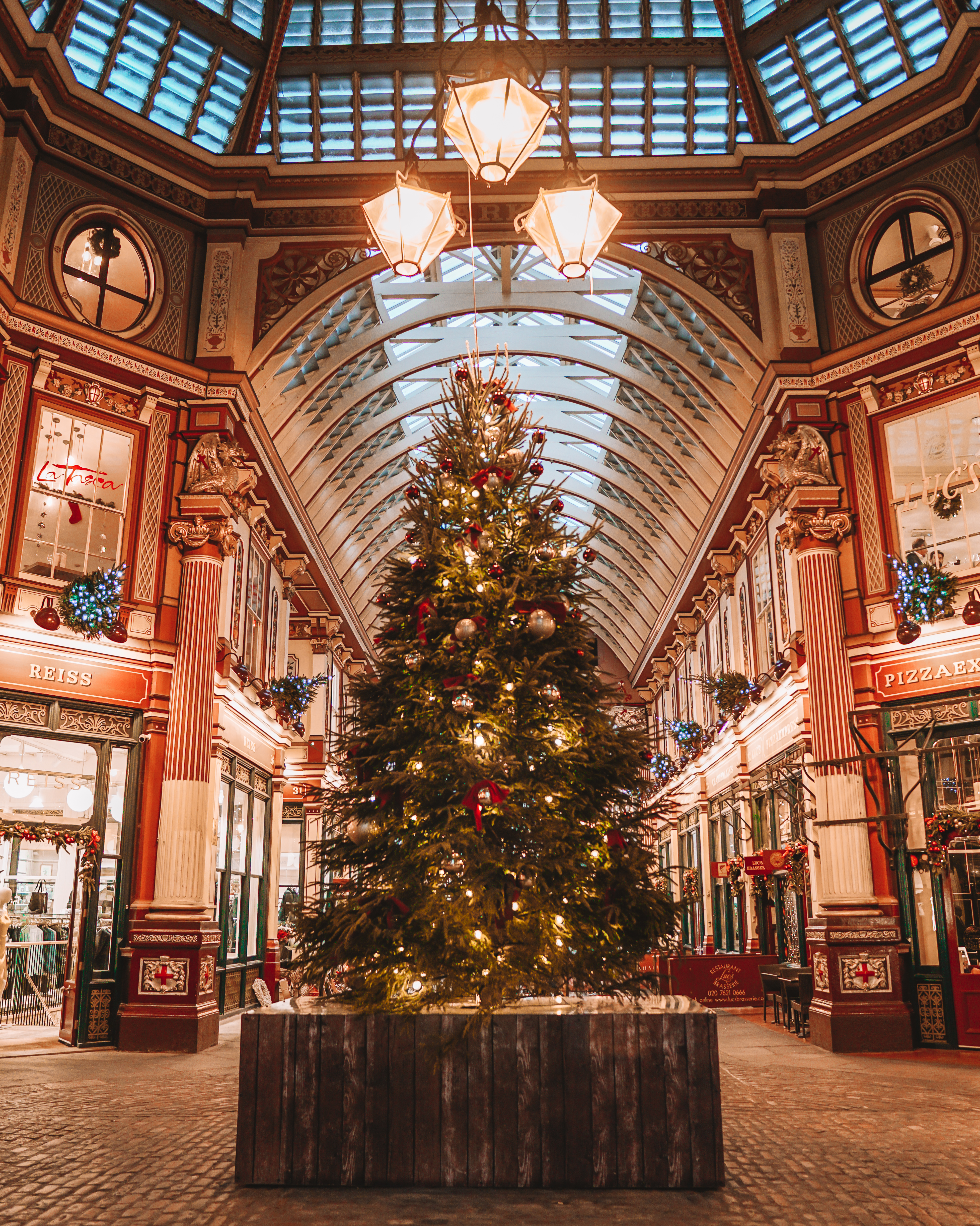 Christmas in London | London's Best Festive Displays | Leadenhall Market