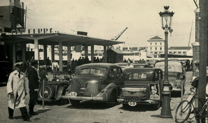 Ferry at Dieppe in 1938