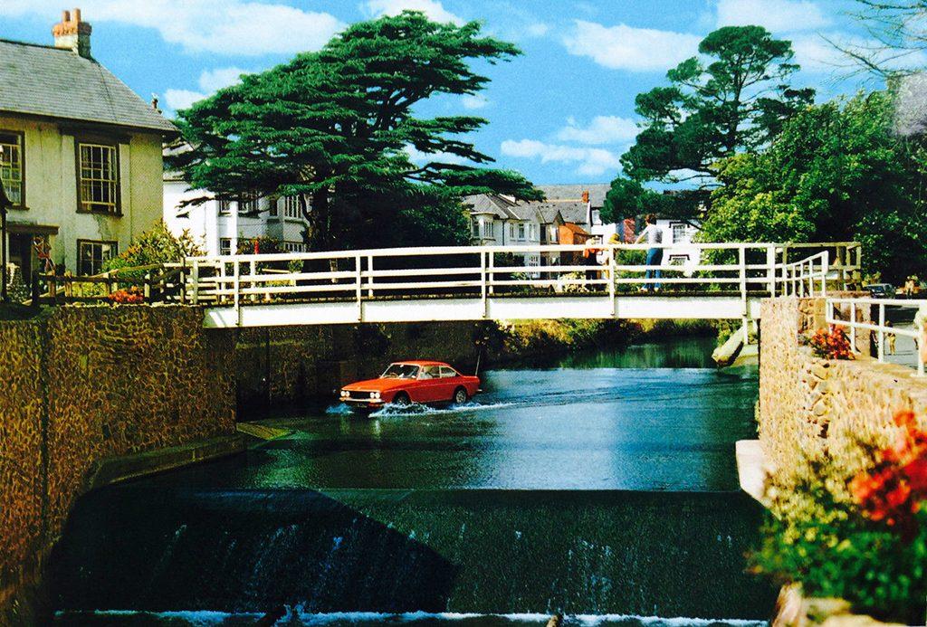 Postcards Fiat 124