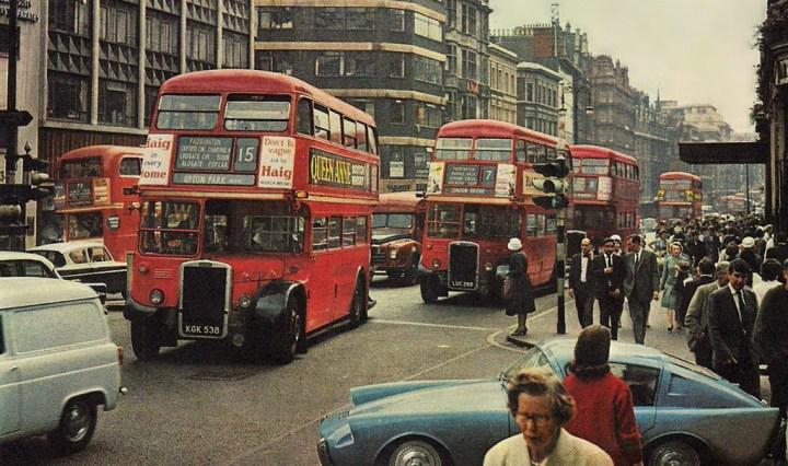 Mystery car on London street