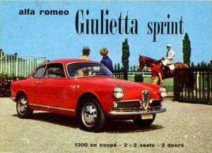Alfa Romeo Giulietta Sprint