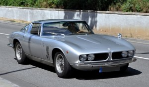Iso Grifo series 1 without bonnet scoop